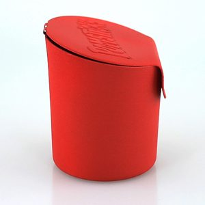 Pomsticks Becher 3D Print Seitenansicht