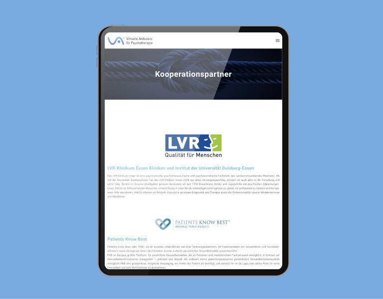 VirtuelleAmbulanz-Mockup